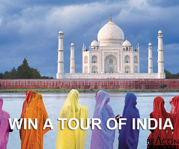 Win a Tour of India
