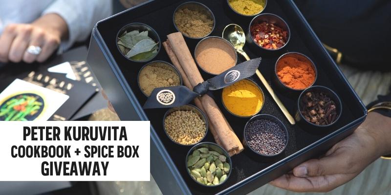 WIN a Peter Kuruvita Spice Box & Signed Cookbook