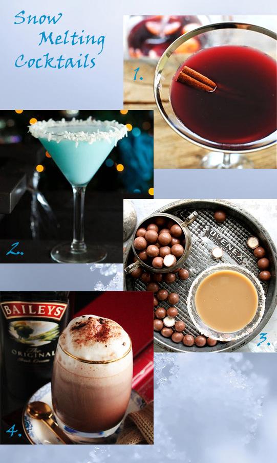 Snow Melting Cocktails
