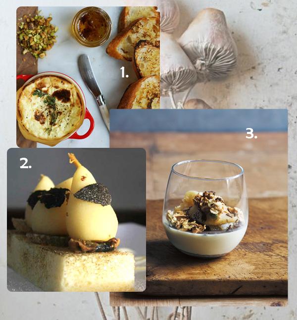 3 Amazing Desserts with TRUFFLE