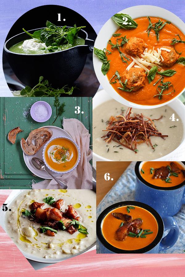 6 British soups to slurp down this Winter