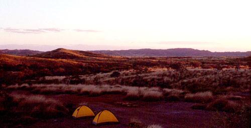 Camping in Western Australia