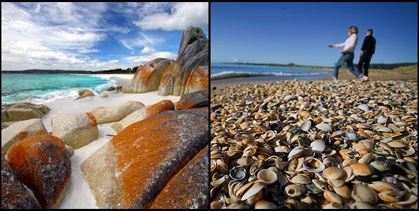 Beaches & Surfing in Tasmania