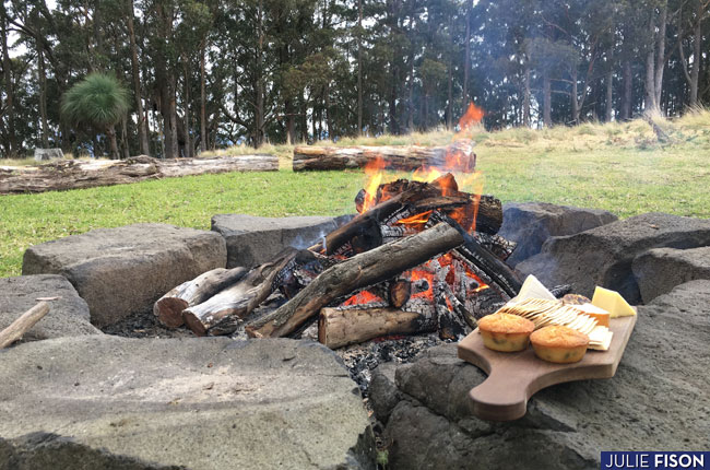 Feasting and Hiking at Spicers Peak Lodge