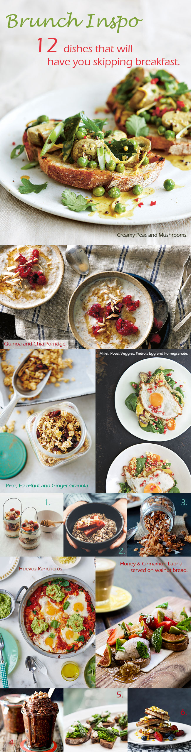 12 of our Favourite Brunch Ideas