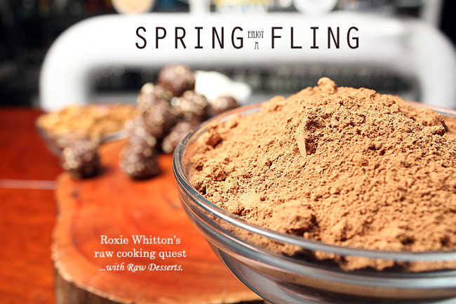 Spring Fling with Raw Desserts