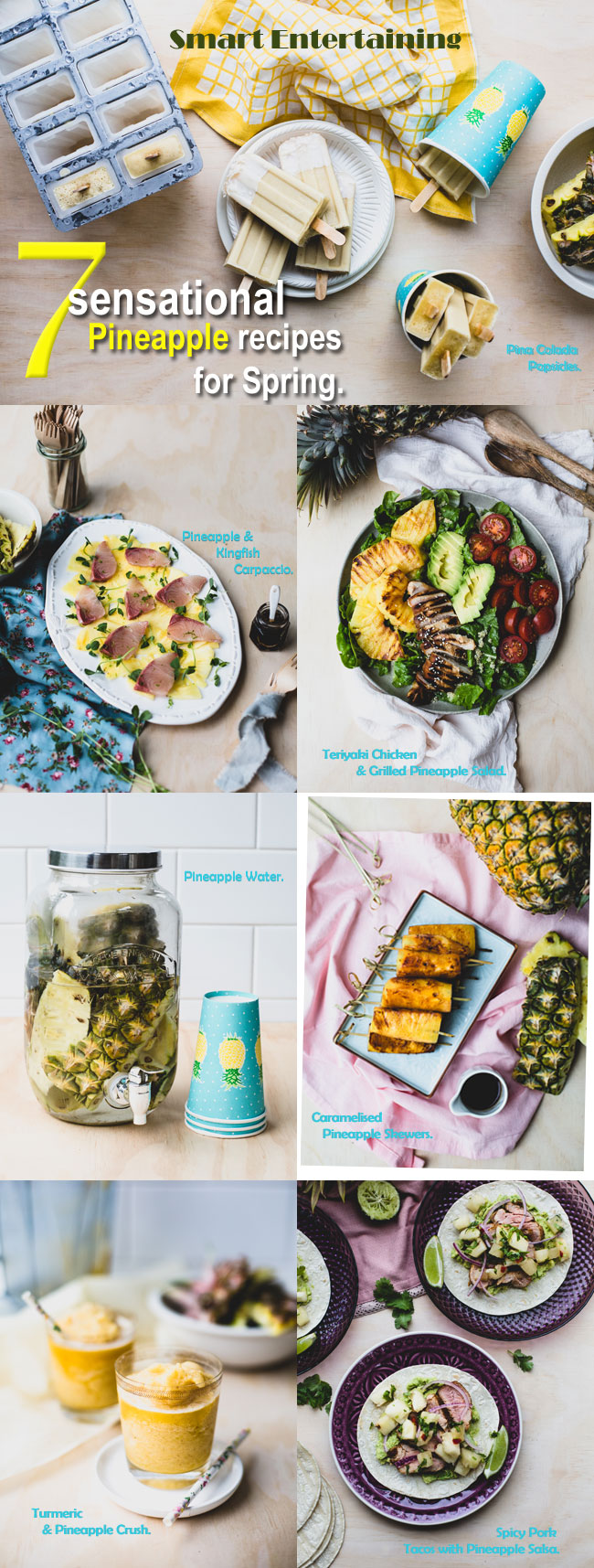 7 Sensational Pineapple Recipes for Spring