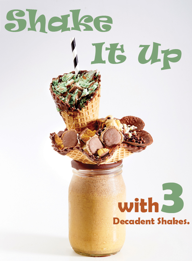 Shake It Up with Decadent Shakes