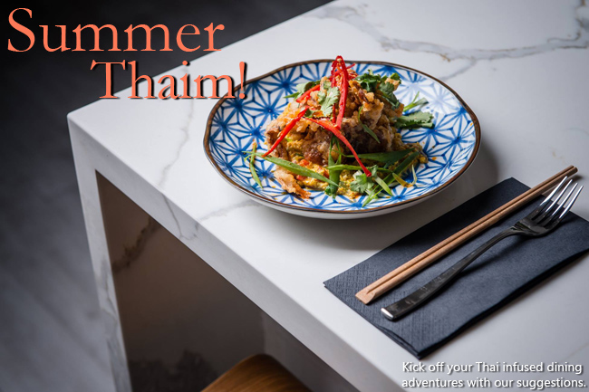 It's Summer Thai-m!