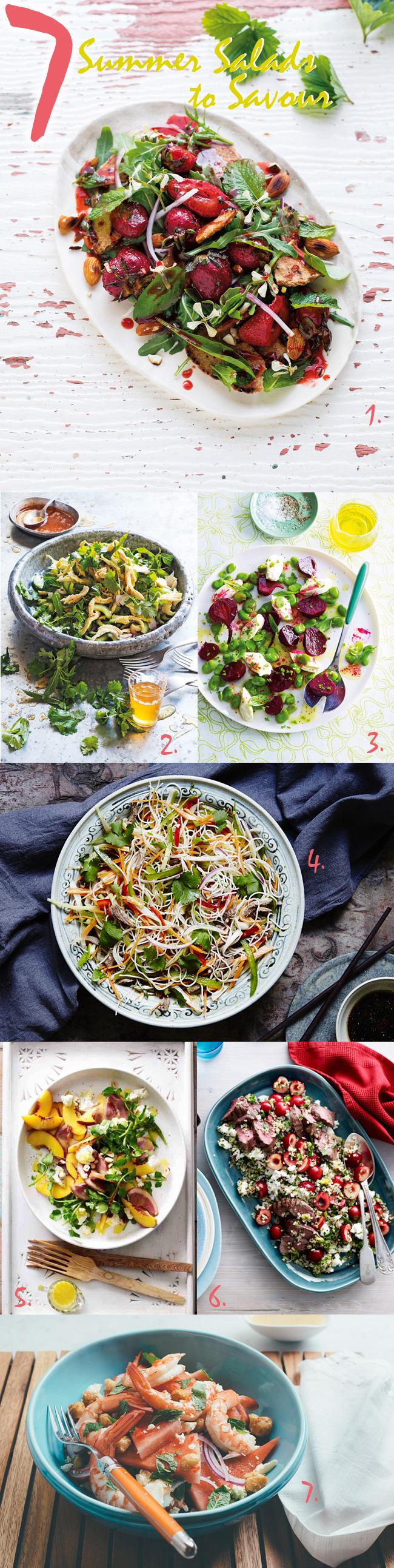 Seven Summer Salads to Savour
