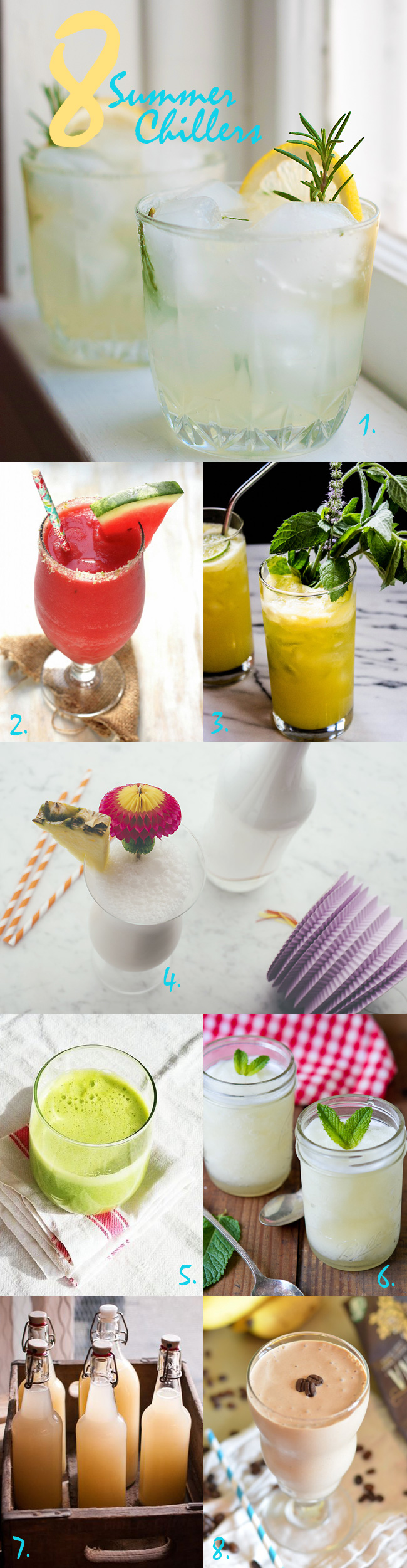 8 Summer Chillers