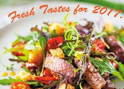 Fresh Tastes for 2017 with The Salad Book
