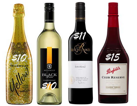 $10 Wines for Christmas Day Pleasure
