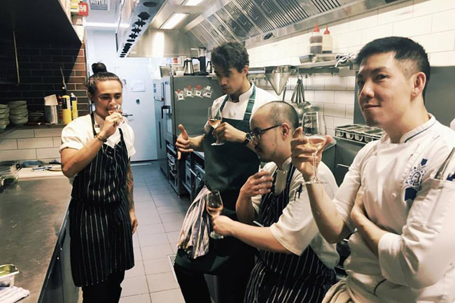 In the Kitchen with Victor Liong