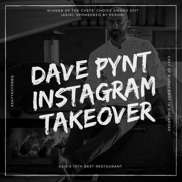 Dave Pynt takes over AGFG's Instagram