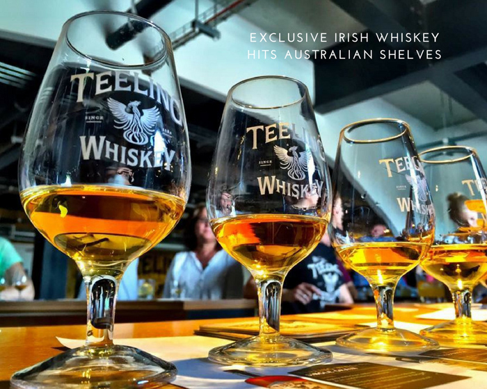 World's Most Exclusive Irish Whiskey lands in Australia in time for St Patrick's Day