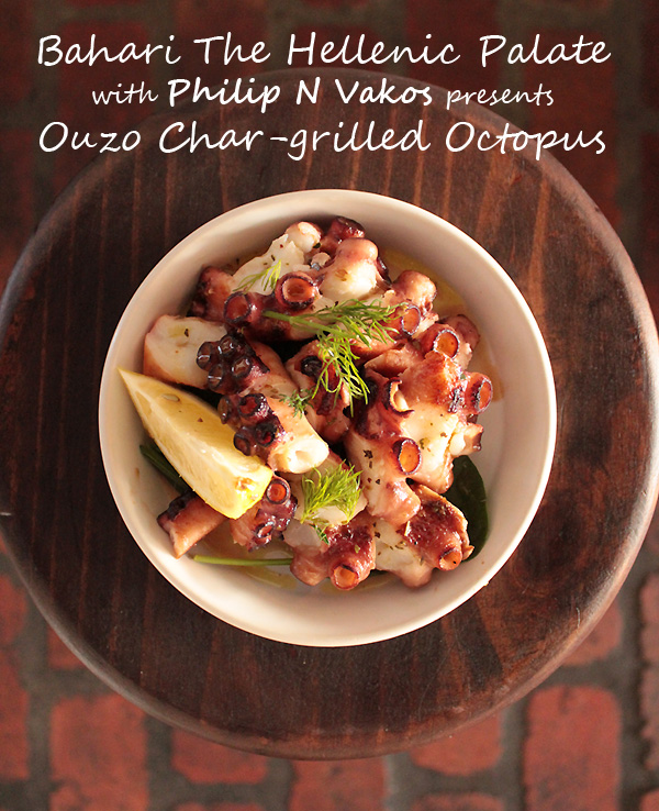 Develop Your Own Hellenic Palate with Philip N Vakos