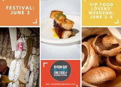 Food Lovers' Weekend in Byron Bay