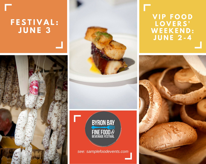 Food Lovers' Weekend in Byron Bay