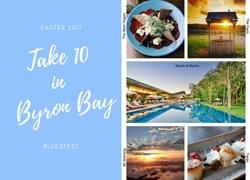 Take 10 in Byron Bay