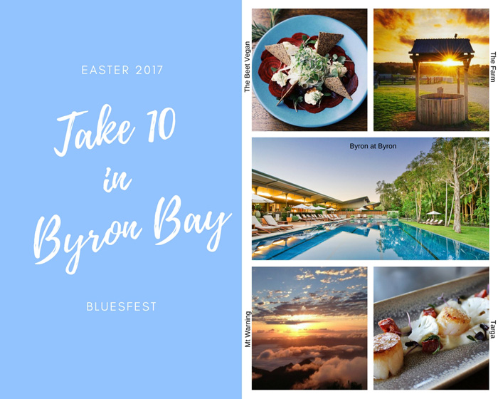 Take 10 in Byron Bay