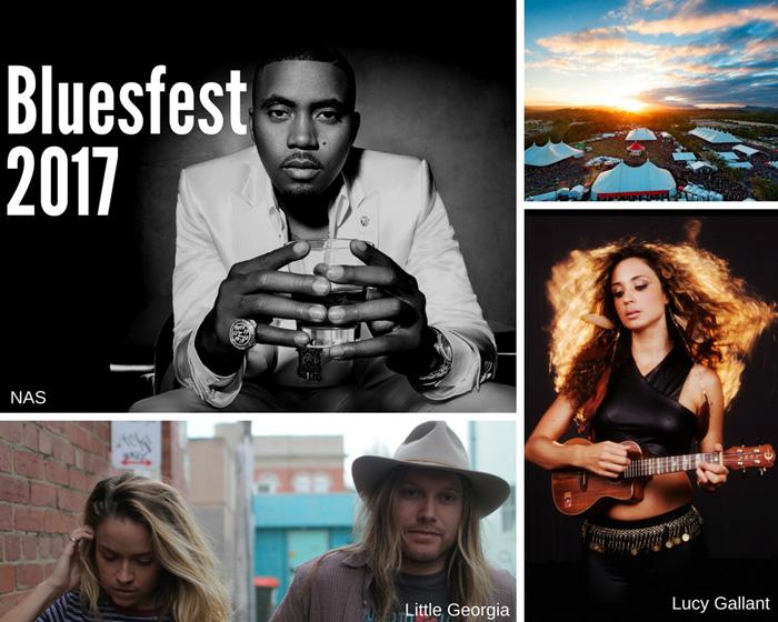 Rollin' into Bluesfest, Byron Bay 2017