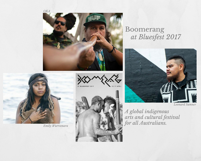 Boomerang Returns to Bluesfest 2017