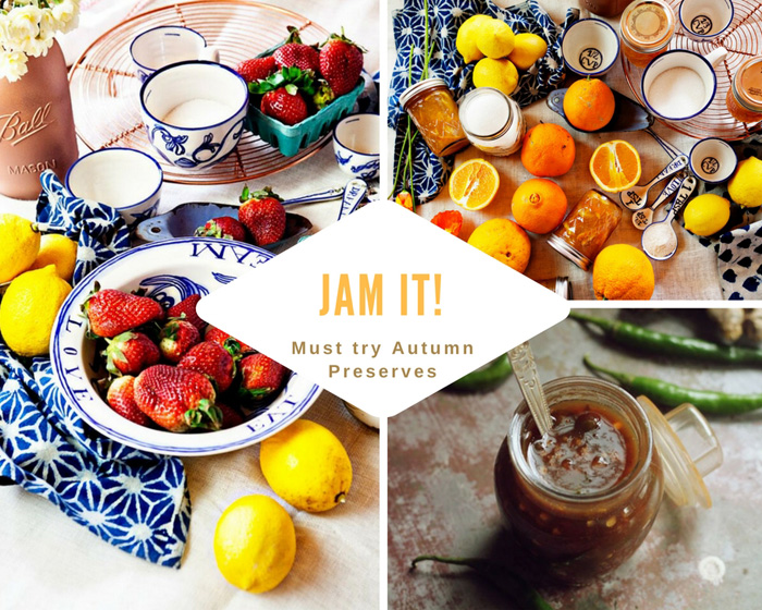 Jam It! Must Try Autumn Preserves