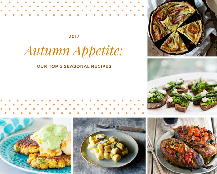 Autumn Appetite: Our Top 5 Seasonal Recipes