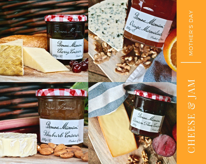 Cheese and Jam Pairings for Mother's Day