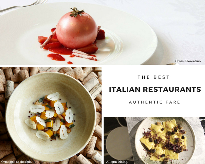 Australia's Best Italian Restaurants