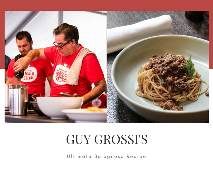 Guy Grossi's Ultimate Bolognese