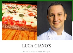The Perfect Pizza Base by Luca Ciano