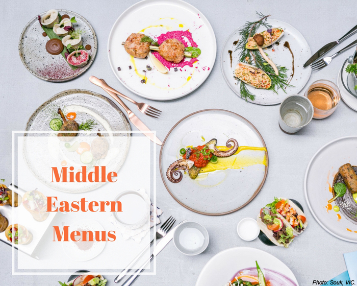 Middle Eastern Menus: The Best of Australia's Middle Eastern Dining