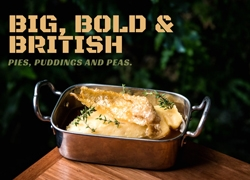 Big, Bold and British: Pies, Puddings and Peas