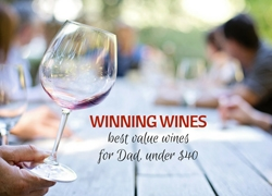 Winning Wines: Best Value Wines for Dad under $40