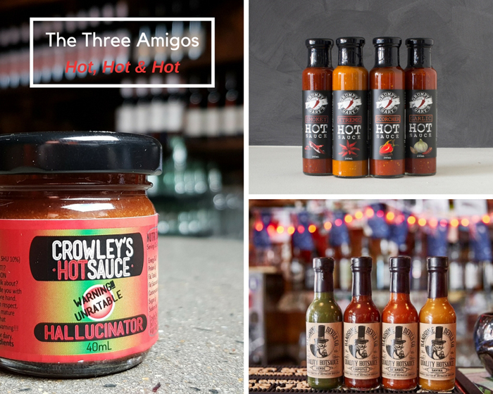 The Three Amigos: Our Pick of 3 Chilli Sauces that Pack a Punch