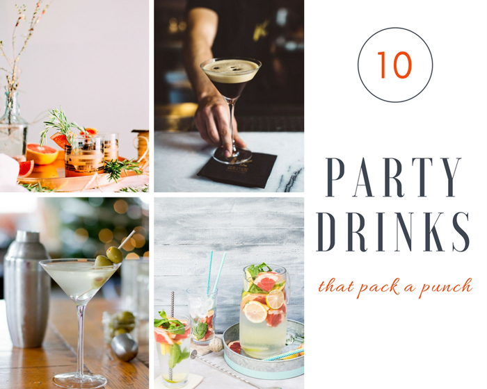 10 Party Drinks that Pack a Punch