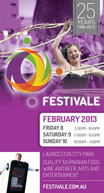 Festivale is Celebrating 25 Years - 2013