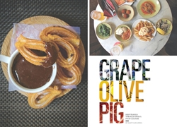 Grape Olive Pig, the Epitome of Spain