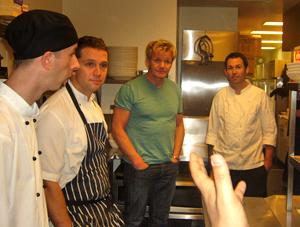 Gordon Ramsay Dines at Ioesco Café Cucina - Sanctuary Cove, QLD!