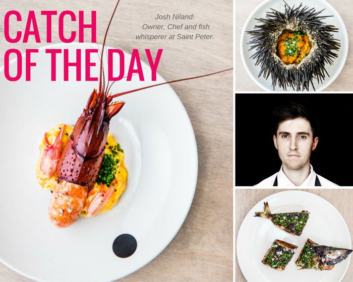 Catch of the Day: Owner and Chef of Saint Peter, Josh Niland