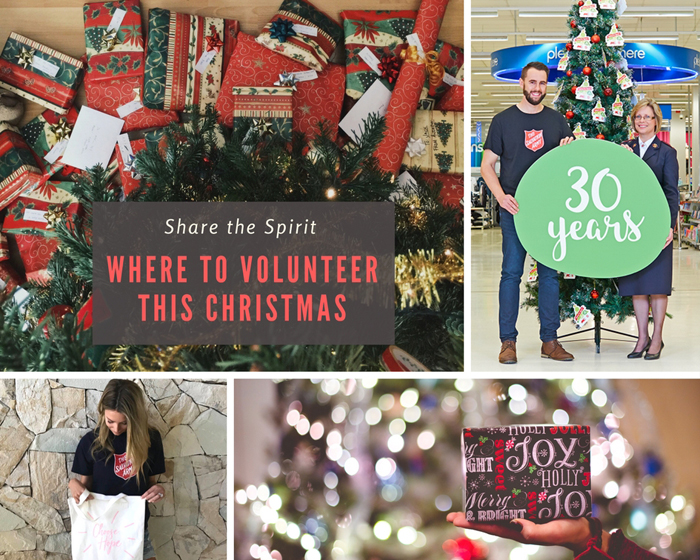 Share the Spirit! Where to Volunteer this Christmas