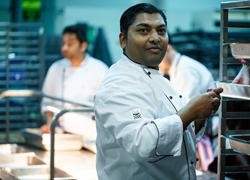 Serving up an Ace at the Australian Open, we speak with Executive Chef Asif Mamun