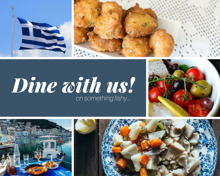 Celebrate Greek Independence Day with Something Fishy