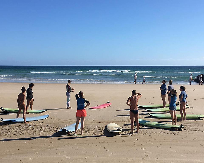 Salty Girls Surf School – Riding the Wave!