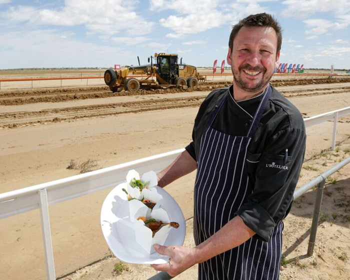 Renowned SA Chef, Simon Burr is Outback Bound for 10th Anniversary Birdsville Races