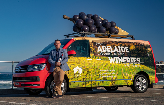 Will you be Sydney's luckiest commuter? Gary Mehigan transforms Sydney SUVs into Wine and Cheese Experience
