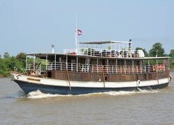 Sailing Mekong's Past in the Present