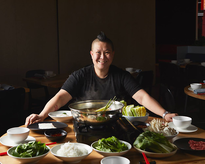 Bringing South East Asia to the Cup: Jerry Mai from Annam at Flemington
